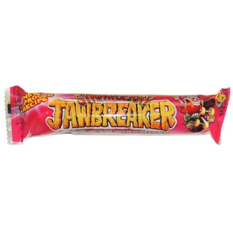 Strawberry Jawbreaker 4 Pack Zed Candy Novelty Bubblegum Sweets